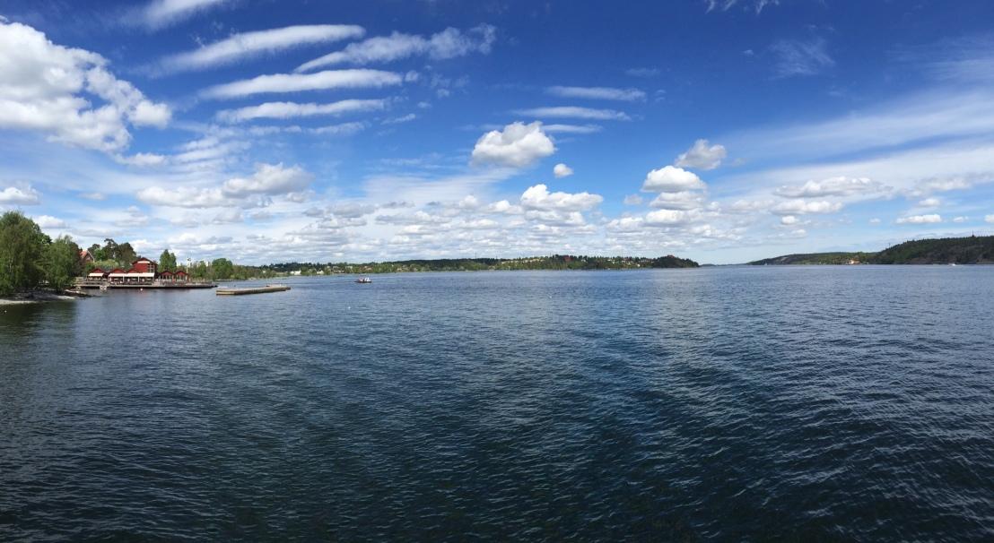 Fjäderholmarna Island