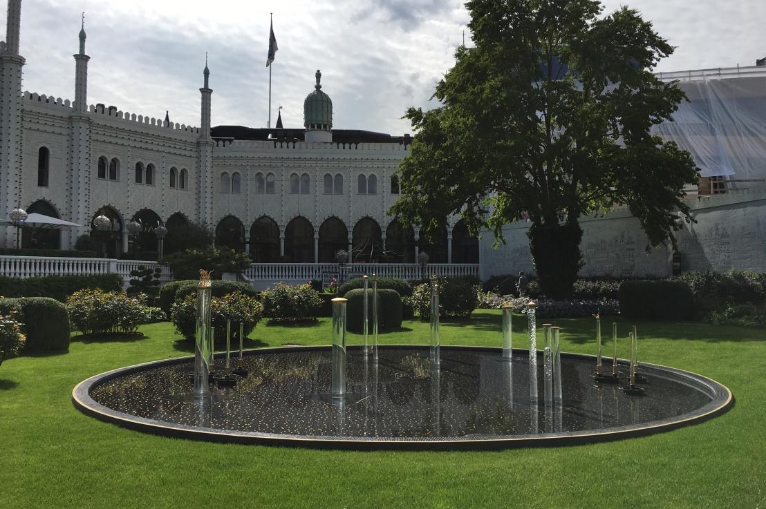 Tivoli Gardens ofCopenhagen